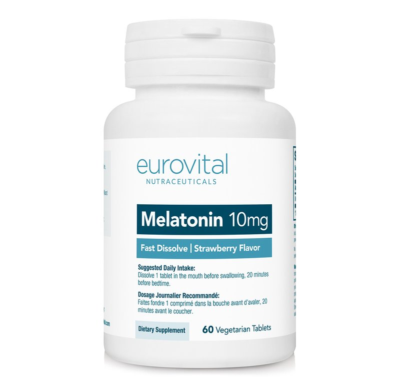 Melatonina 10 mg (Dizolvare rapida) 60 Tablete
